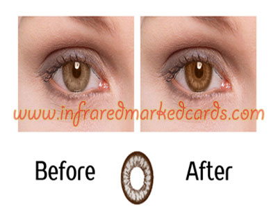 Infrarood Contactlenzen voor Brown Eyes